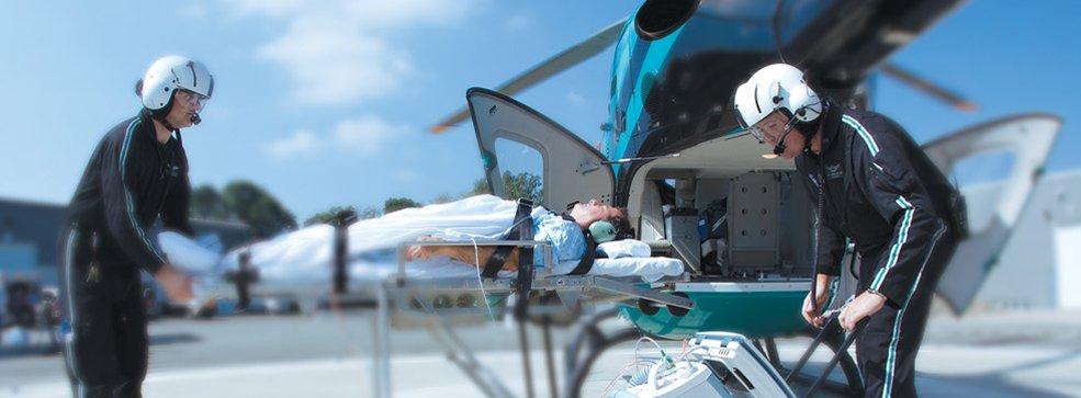 Trasferimento paziente con volo sanitario