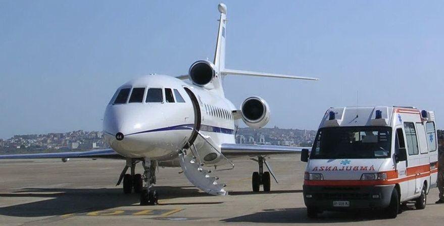 Trasporto aereo sanitario